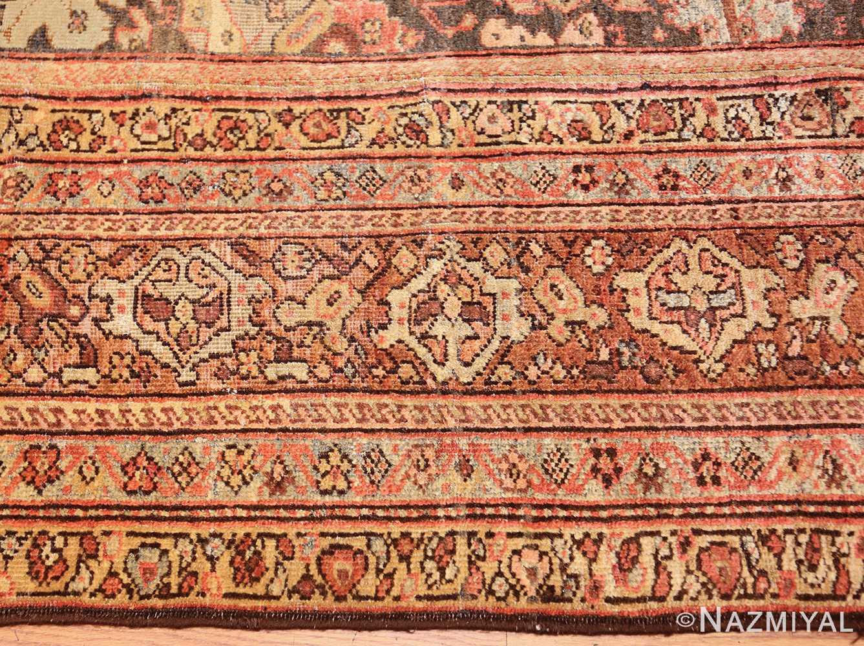 antique persian sultanabad rug 43053 border Nazmiyal