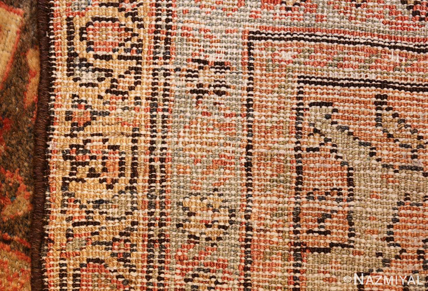antique persian sultanabad rug 43053 weave Nazmiyal