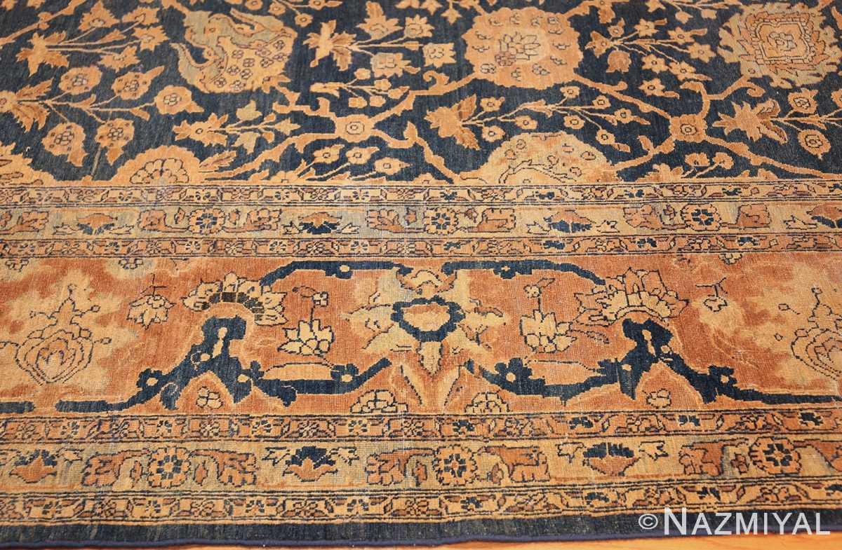 antique tabriz persian rug 43098 border Nazmiyal