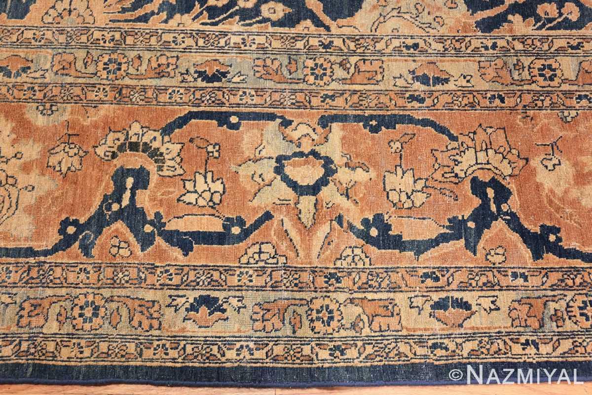 antique tabriz persian rug 43098 closeup Nazmiyal