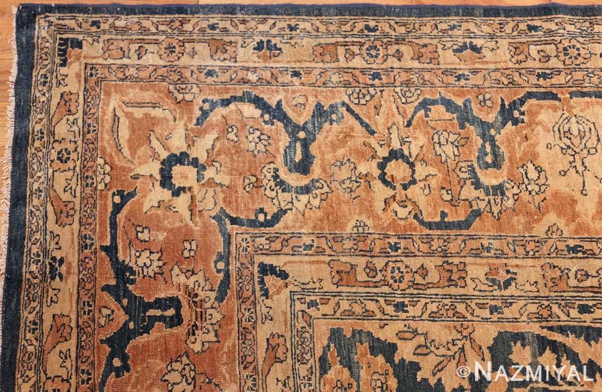 antique tabriz persian rug 43098 corner Nazmiyal