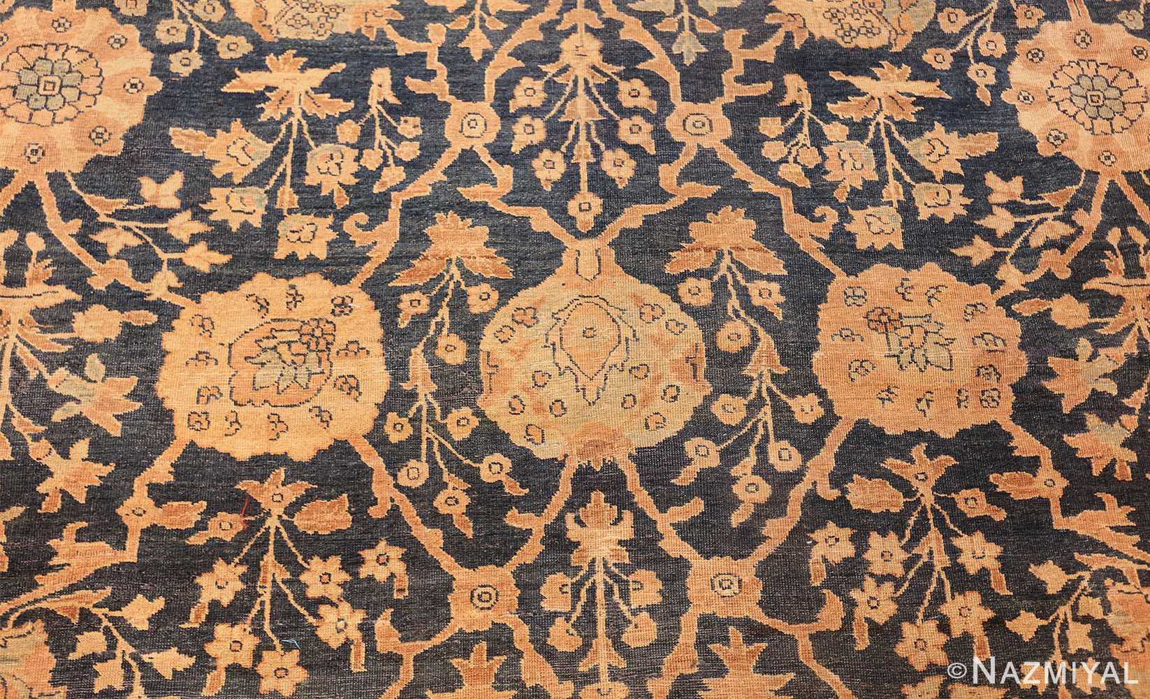 antique tabriz persian rug 43098 design Nazmiyal