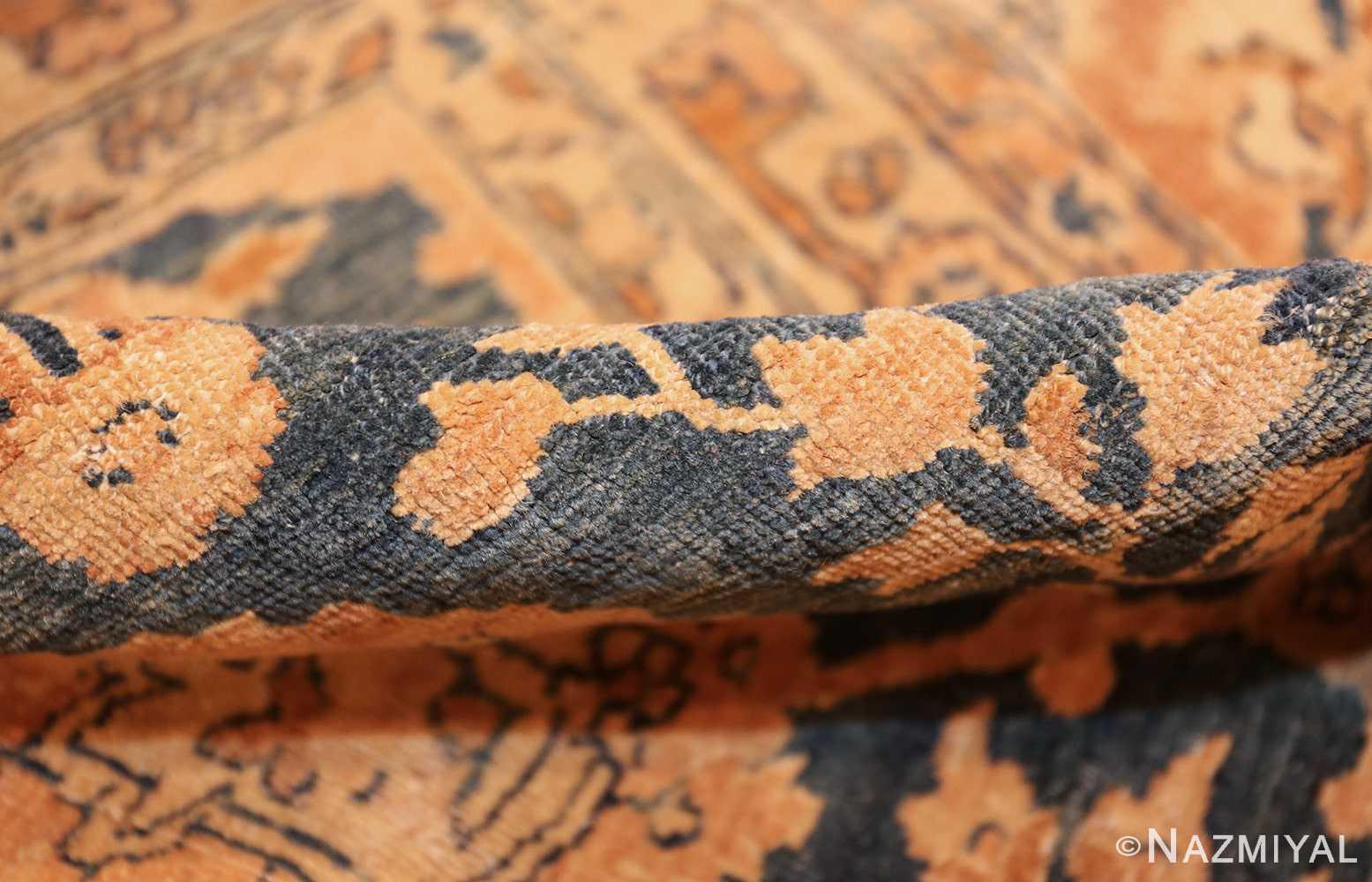 antique tabriz persian rug 43098 pile Nazmiyal