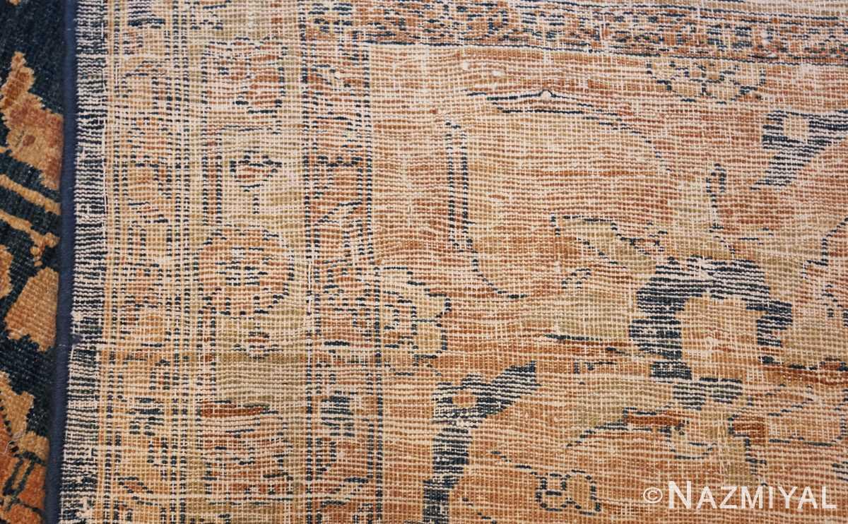 antique tabriz persian rug 43098 weave Nazmiyal