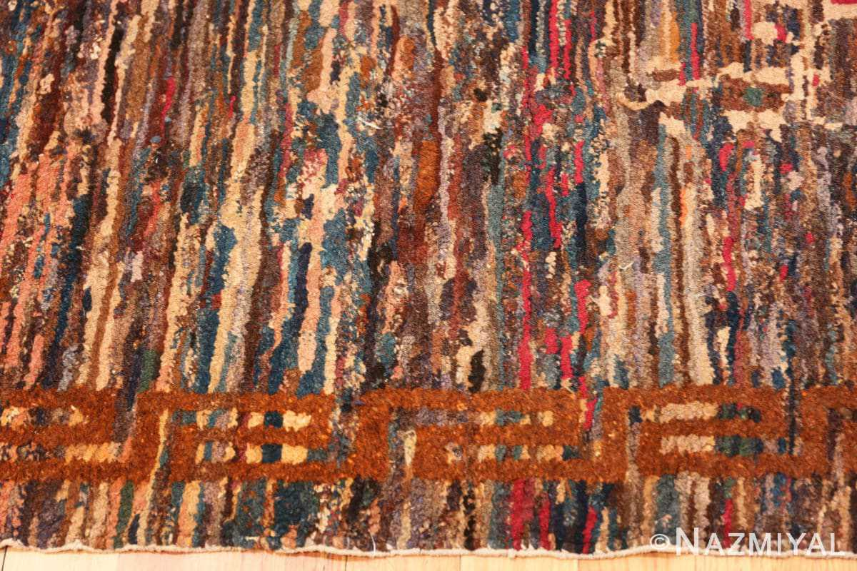 Border Small Scatter size Antique Chinese rug 2859 by Nazmiyal