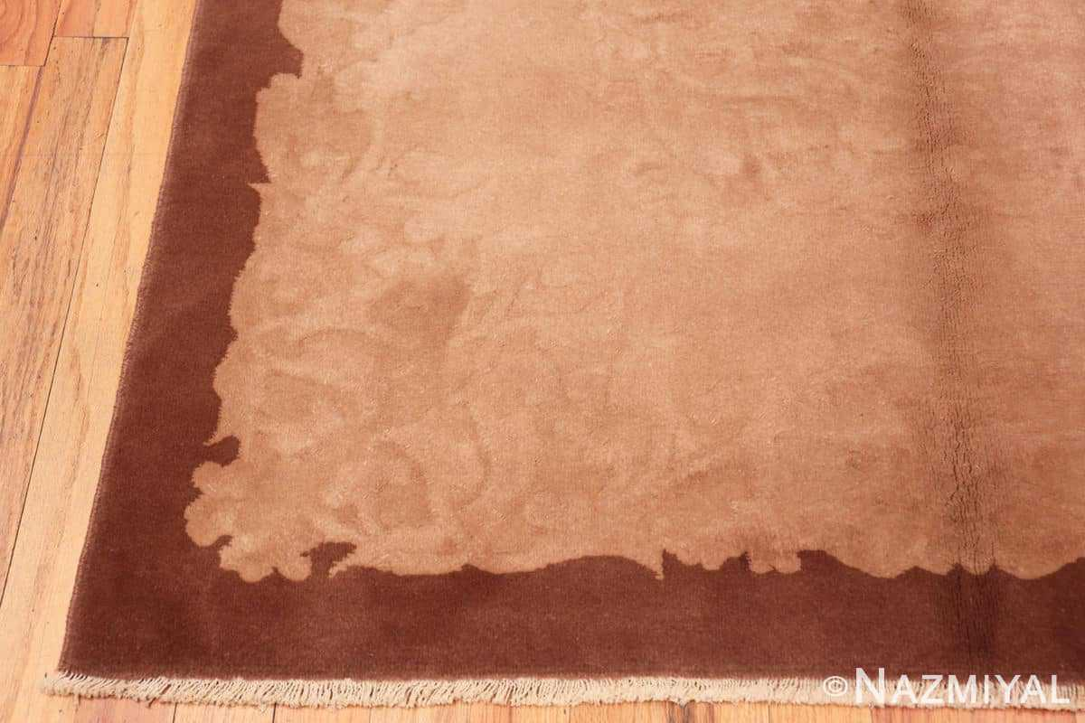 Corner Vintage Chinese deco rug 2513 by Nazmiyal