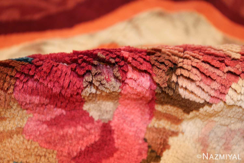 large antique english axminster rug 3437 pile Nazmiyal