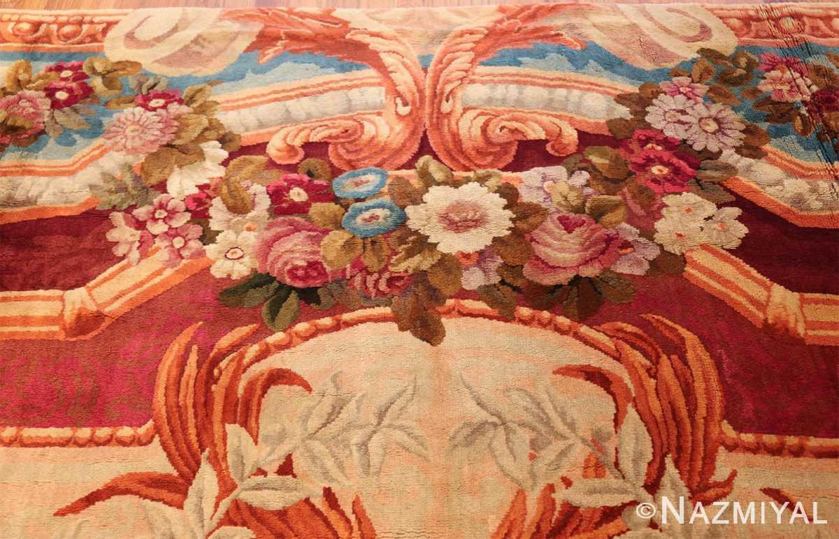 large antique english axminster rug 3437 top Nazmiyal