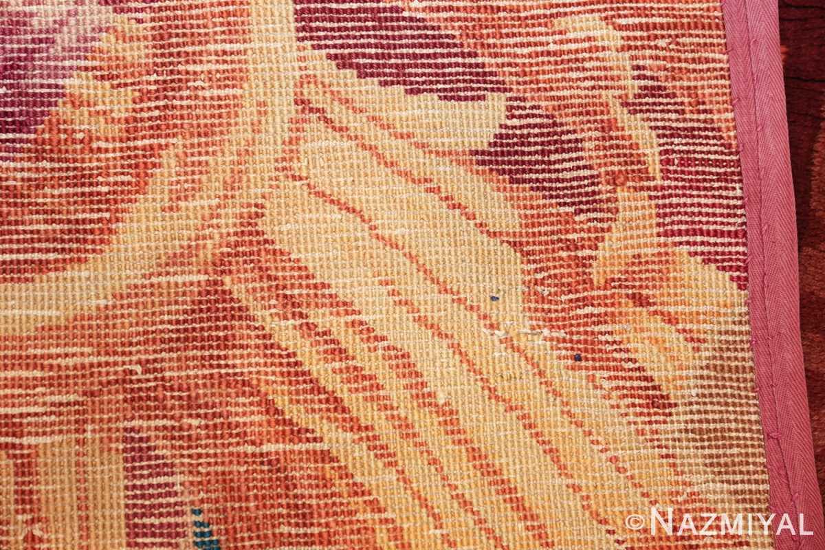 large antique english axminster rug 3437 weave Nazmiyal