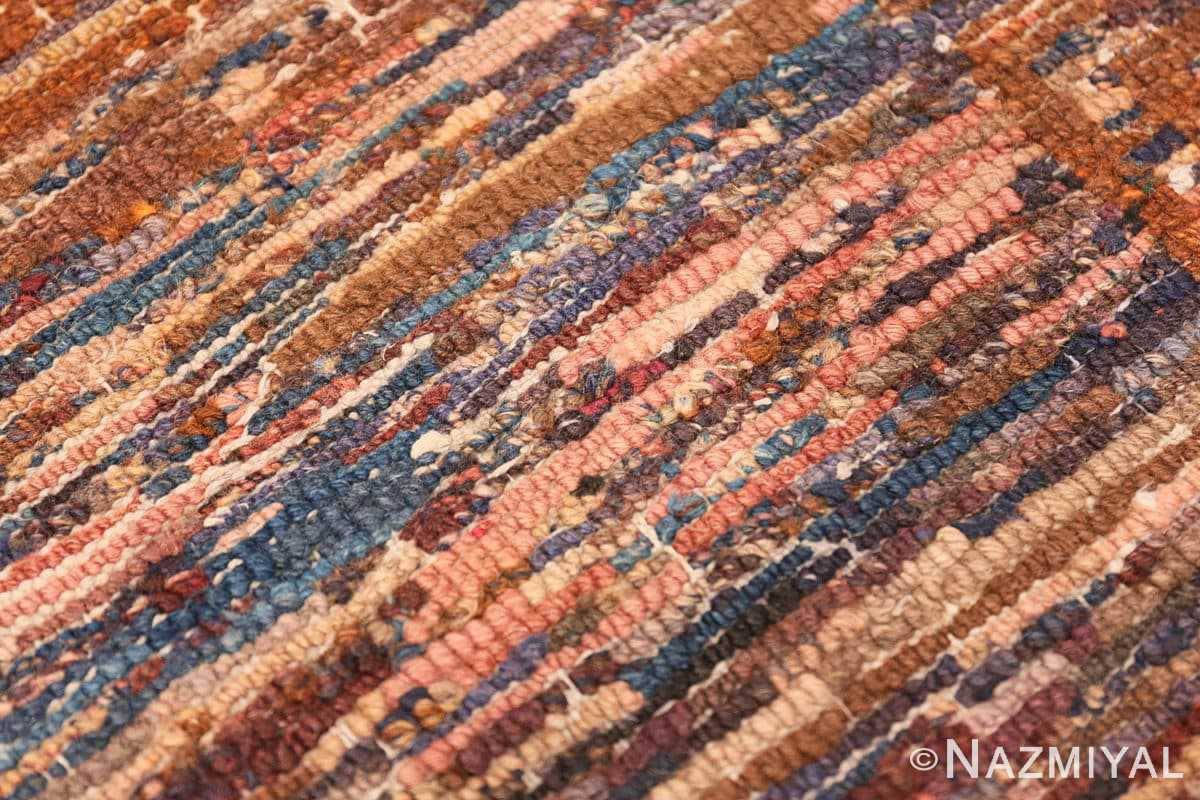 Weave detail Small Scatter size Antique Chinese rug 2859 by Nazmiyal