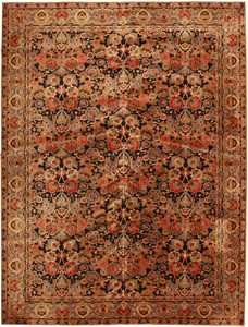 antique english axminster rug 2442 Nazmiyal