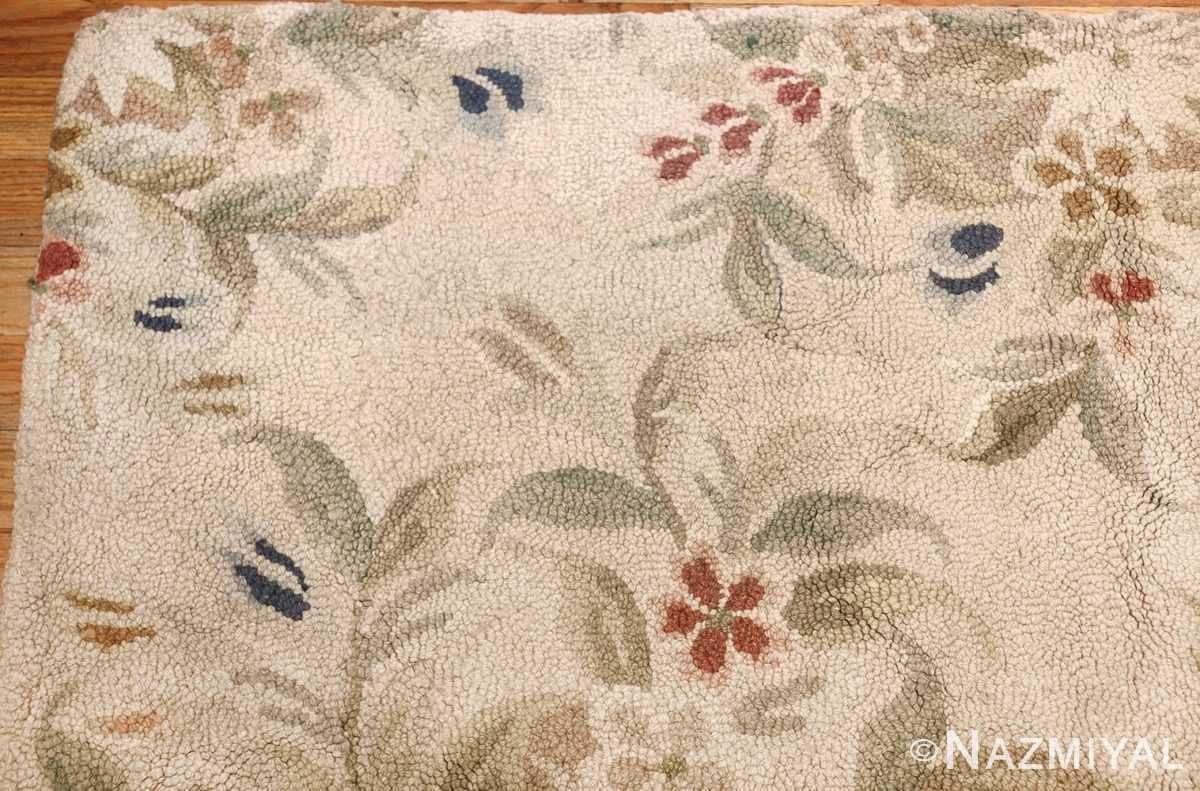 antique hooked american rug 2275 corner Nazmiyal