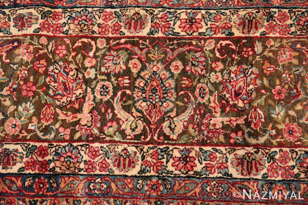antique kerman persian rug 43142 closeup Nazmiyal