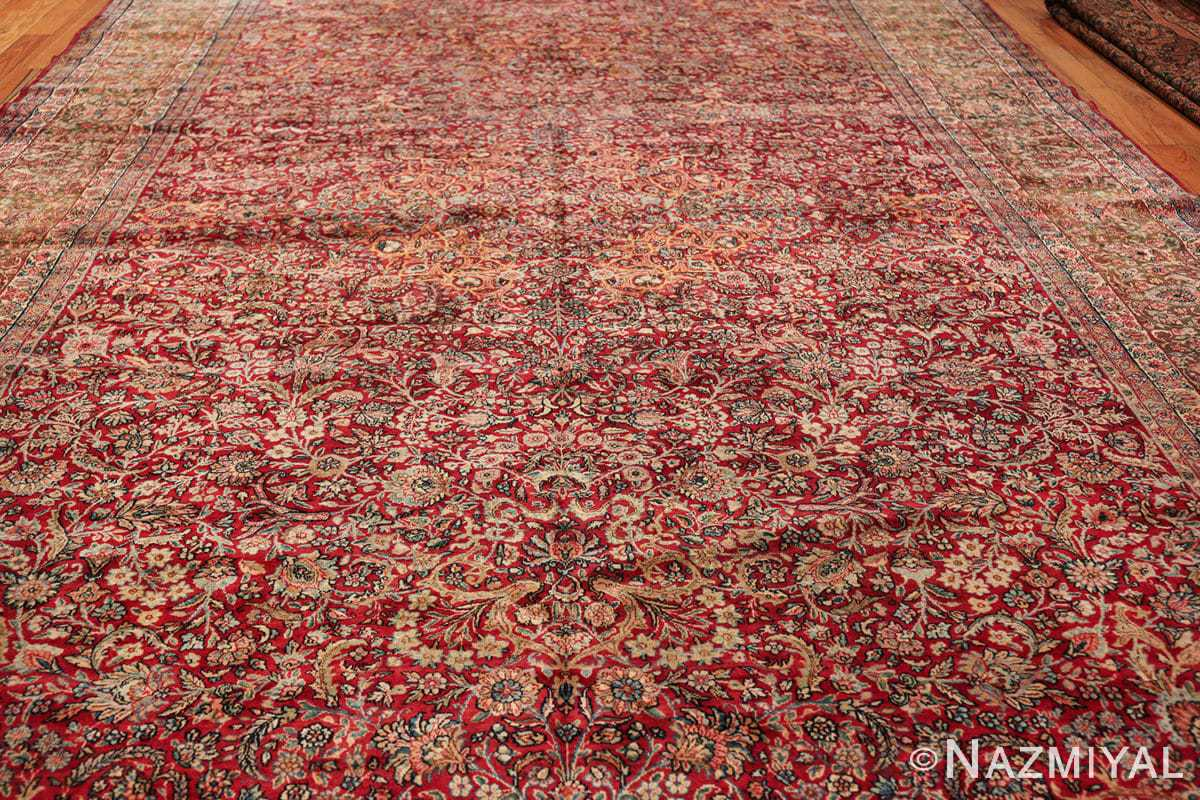 antique kerman persian rug 43142 field Nazmiyal