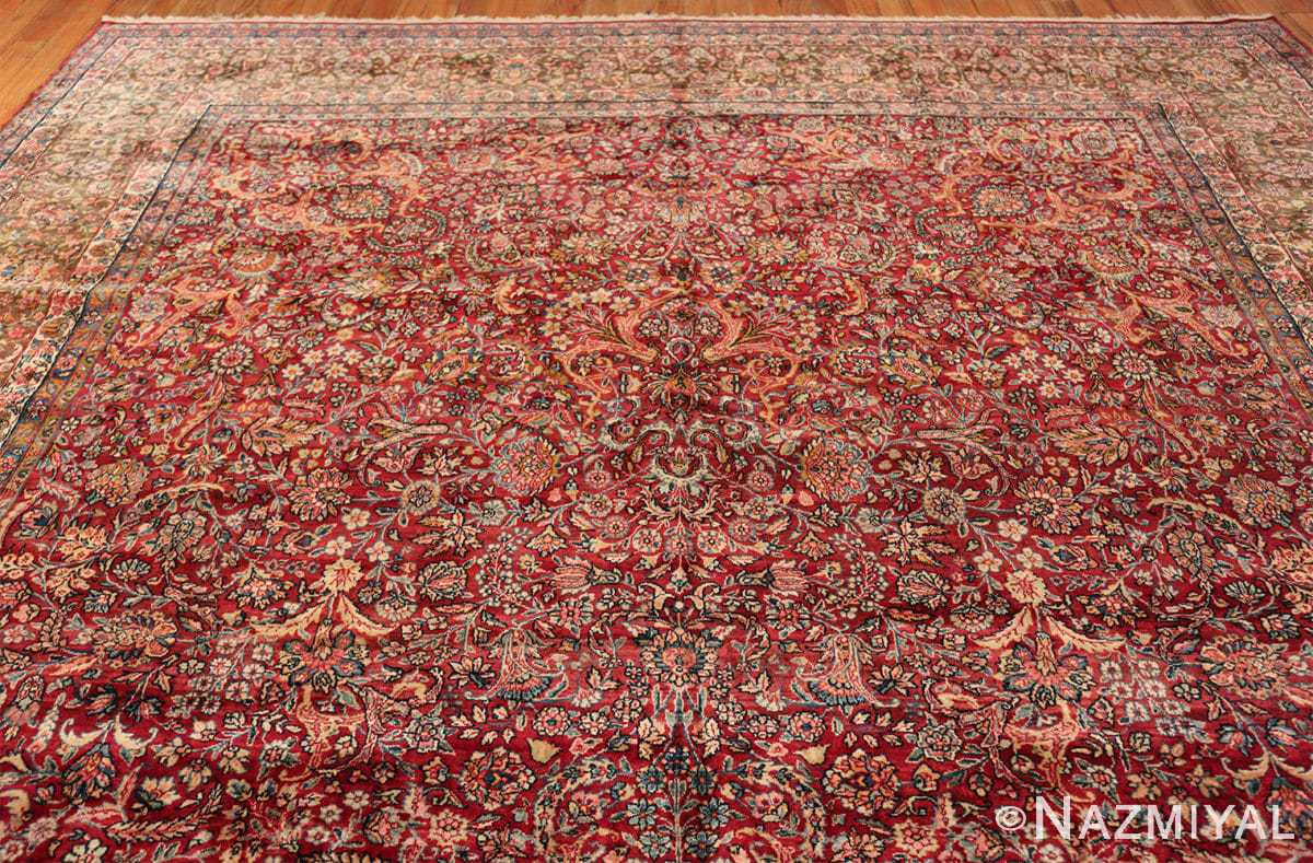 antique kerman persian rug 43142 side Nazmiyal