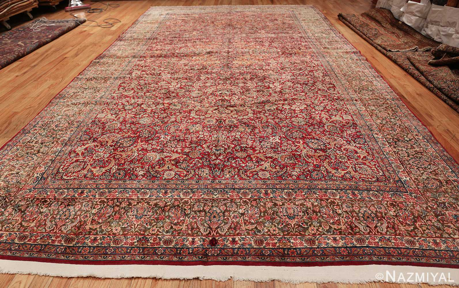 antique kerman persian rug 43142 whole Nazmiyal