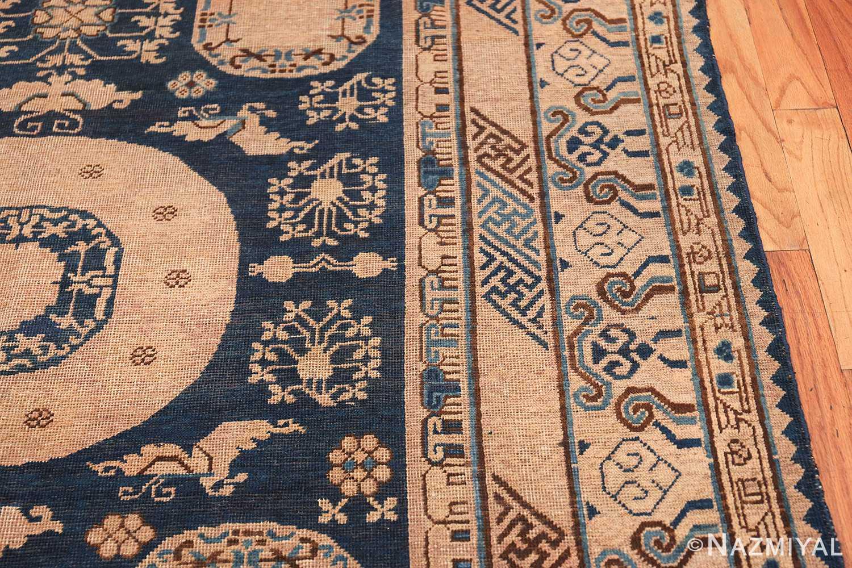 Antique Khotan Oriental Rug 43179 Border Design Nazmiyal