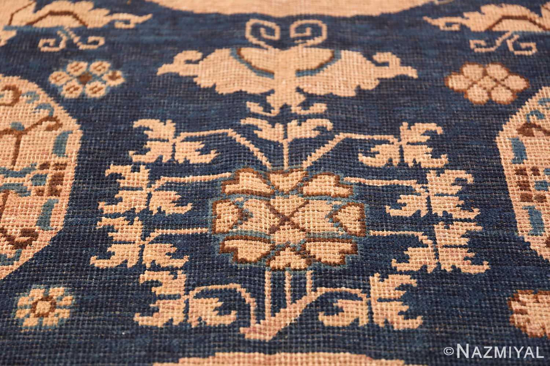 Antique Khotan Oriental Rug 43179 Butterfly Flower Nazmiyal