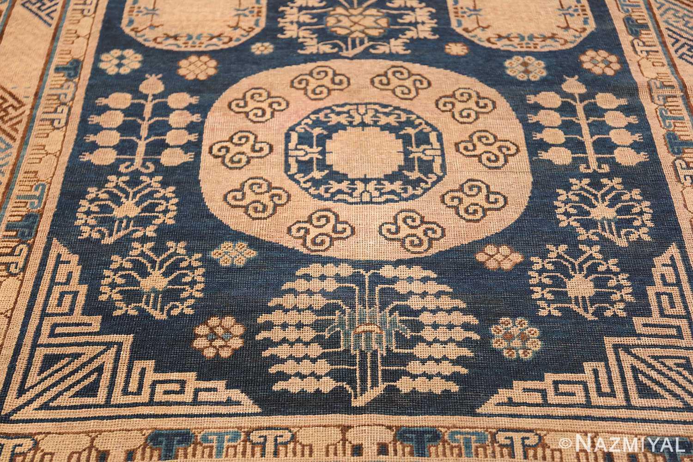 Antique Khotan Oriental Rug 43179 Lower Design Nazmiyal