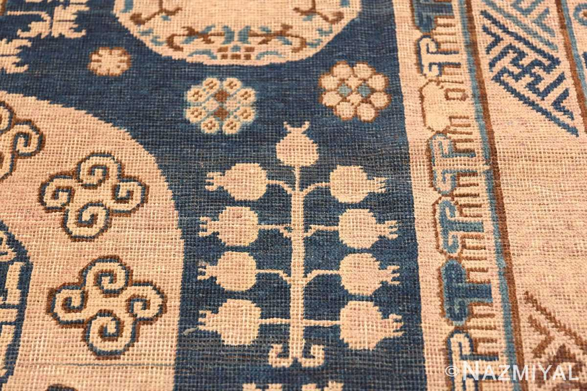 Antique Khotan Oriental Rug 43179 Pomegranate Tree Nazmiyal