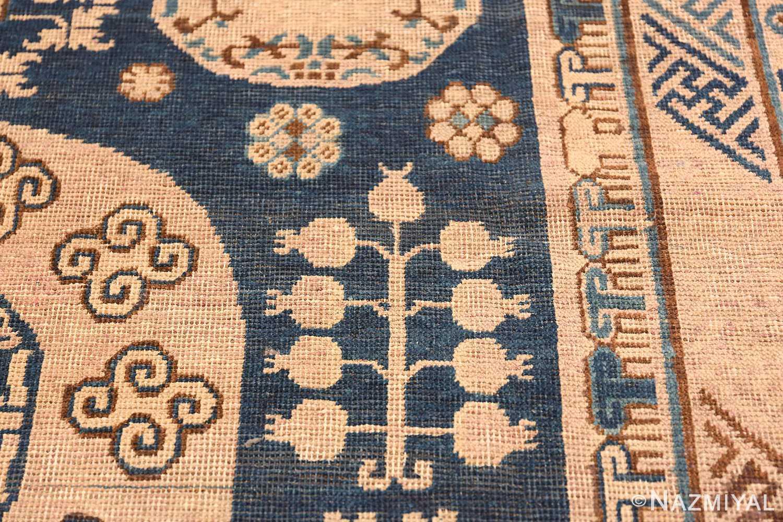 Antique Khotan Oriental Rug 43179 Pomegranate Tree Nazmiyal