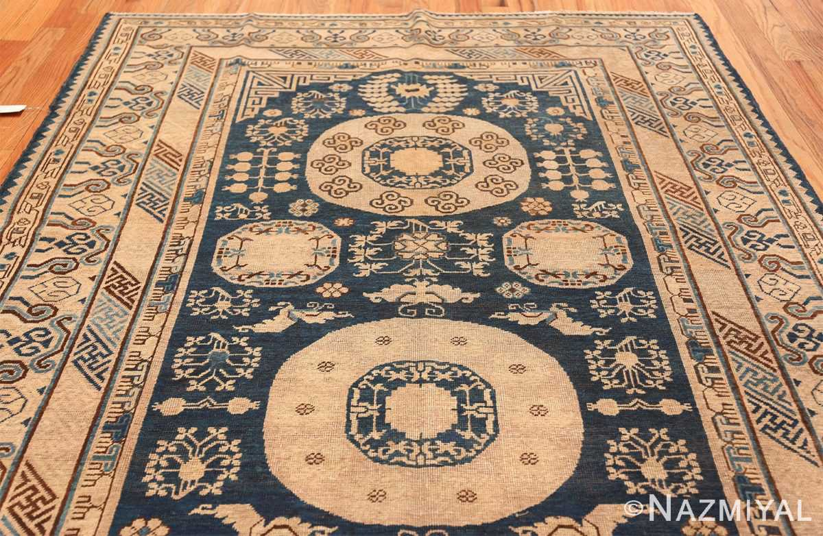 Antique Khotan Oriental Rug 43179 Top Medallion Nazmiyal