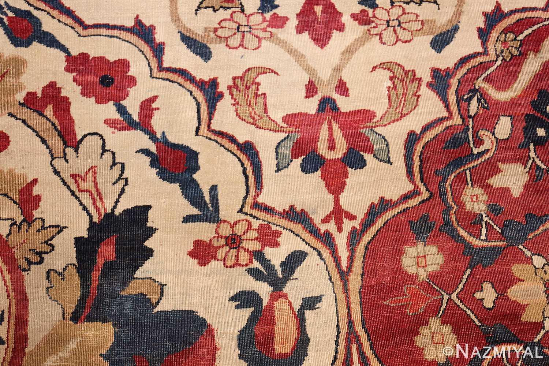 antique persian kerman rug 1817 center Nazmiyal