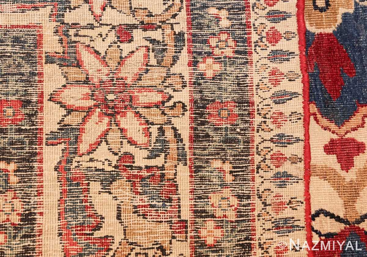 antique persian kerman rug 1817 weave Nazmiyal