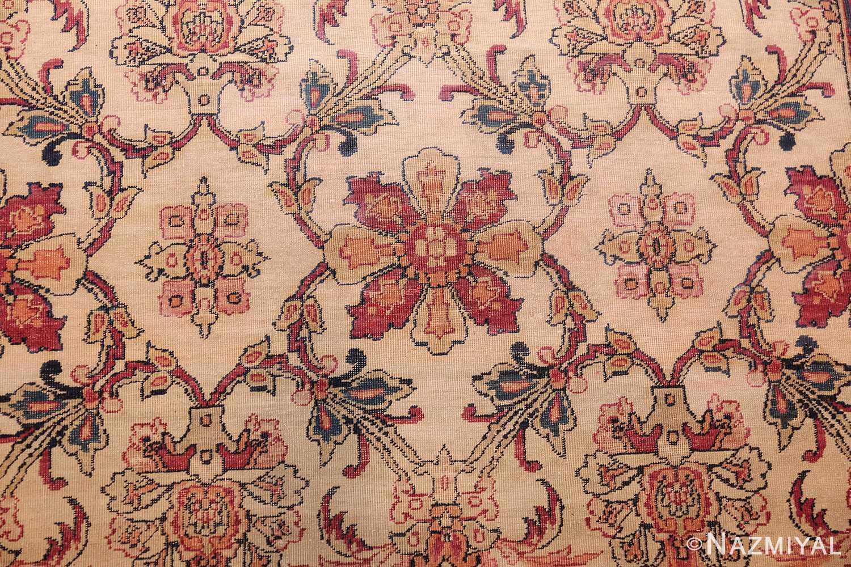 antique persian kerman rug 2632 flowers Nazmiyal
