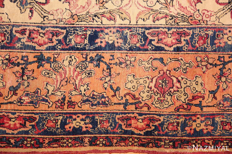 antique persian kerman rug 2632 part Nazmiyal