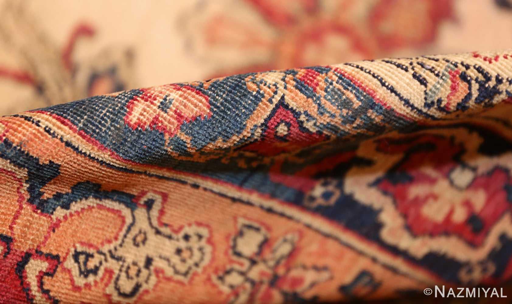 antique persian kerman rug 2632 pile Nazmiyal
