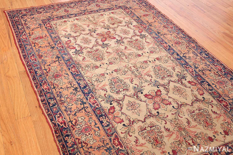 antique persian kerman rug 2632 side Nazmiyal