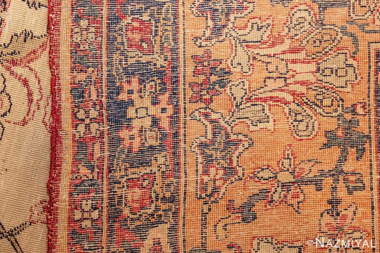 antique persian kerman rug 2632 weave Nazmiyal