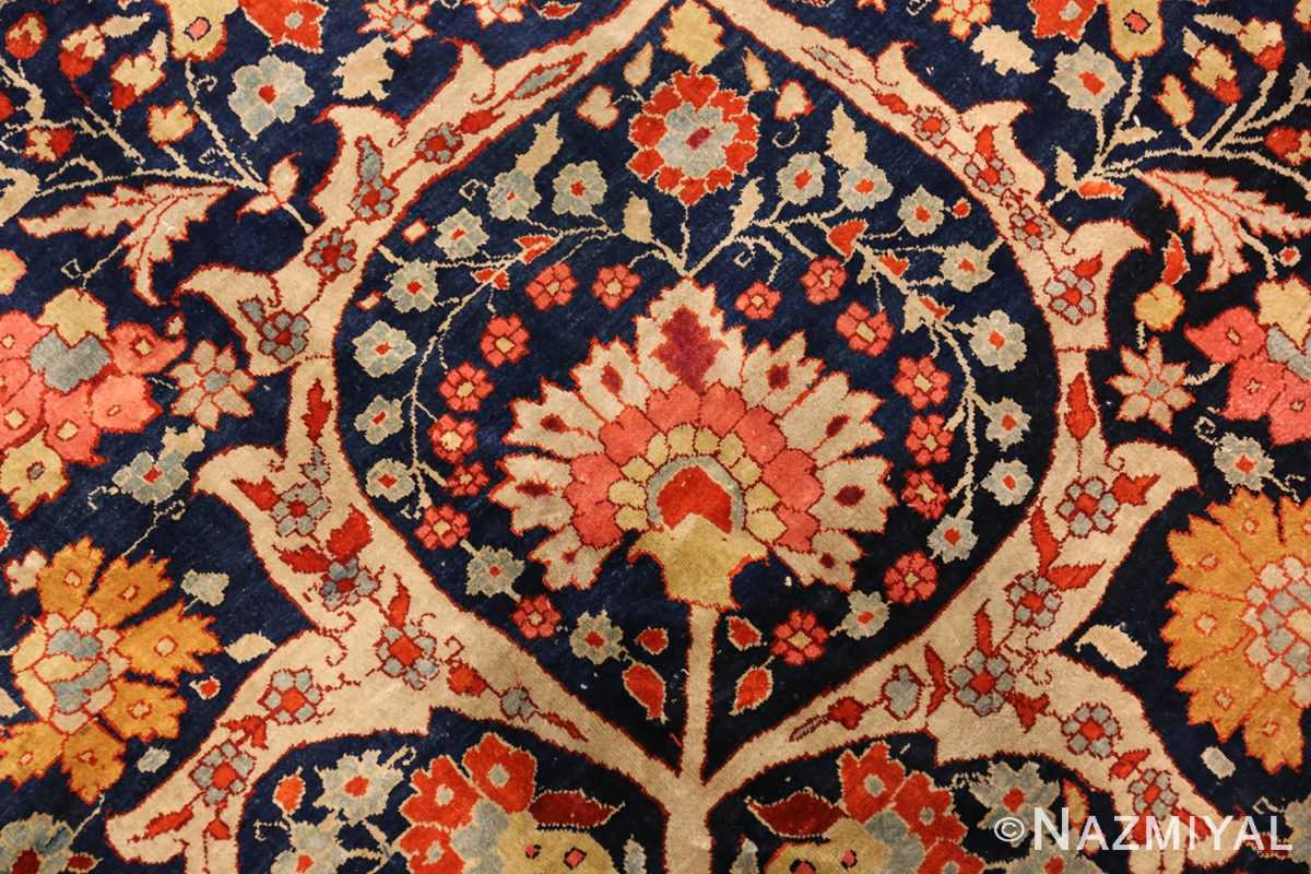 antique persian silk tabriz haji jalili rug 7991 pattern Nazmiyal