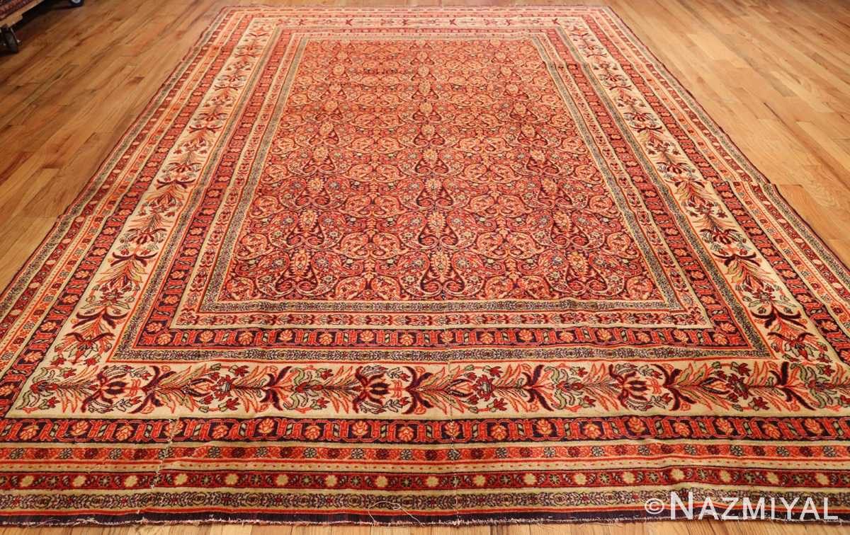 Antique Wilton English Carpets 1341 Nazmiyal Collection