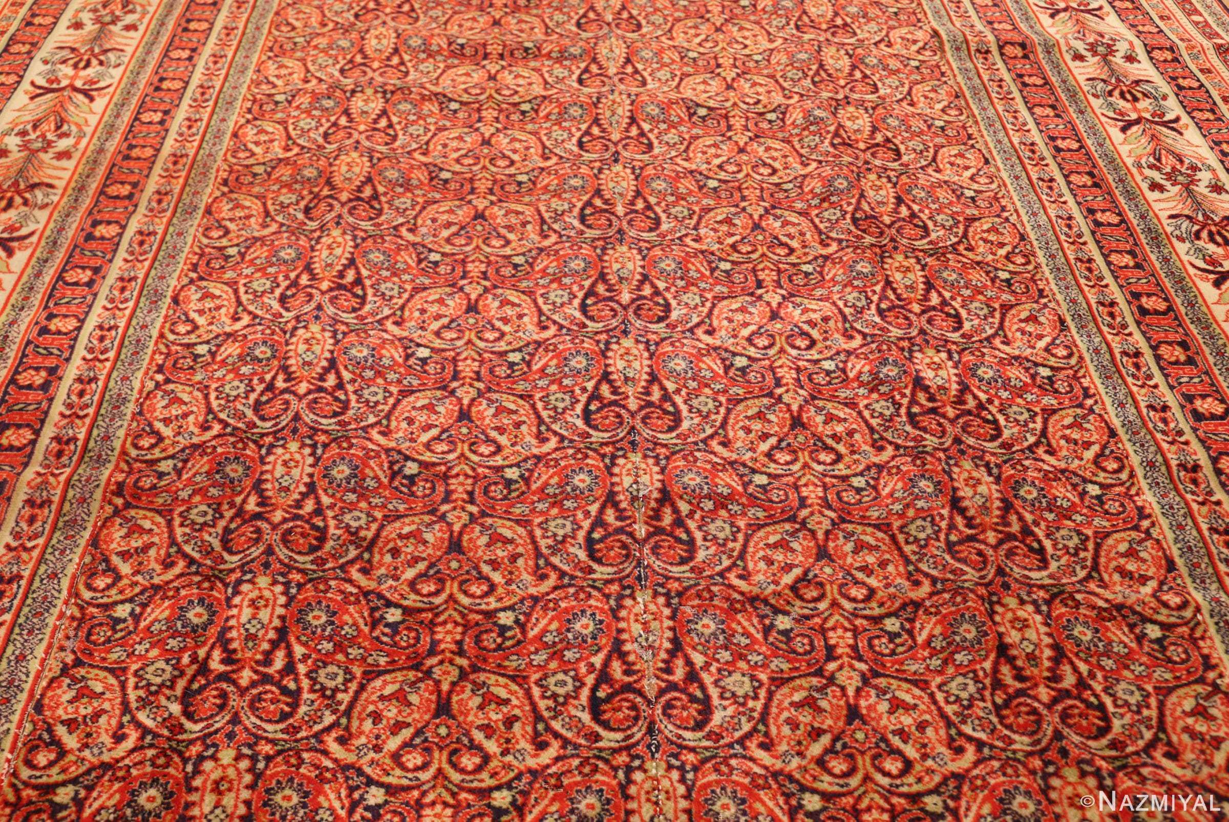 antique wilton english carpet 1341 middle Nazmiyal