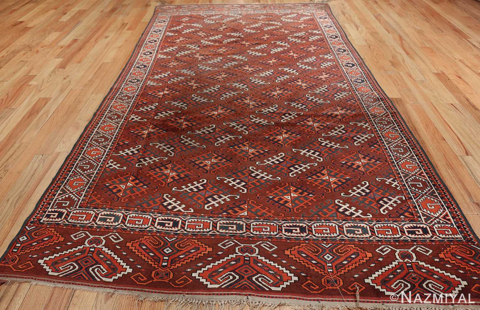 antique yomud oriental rug 41882 whole Nazmiyal