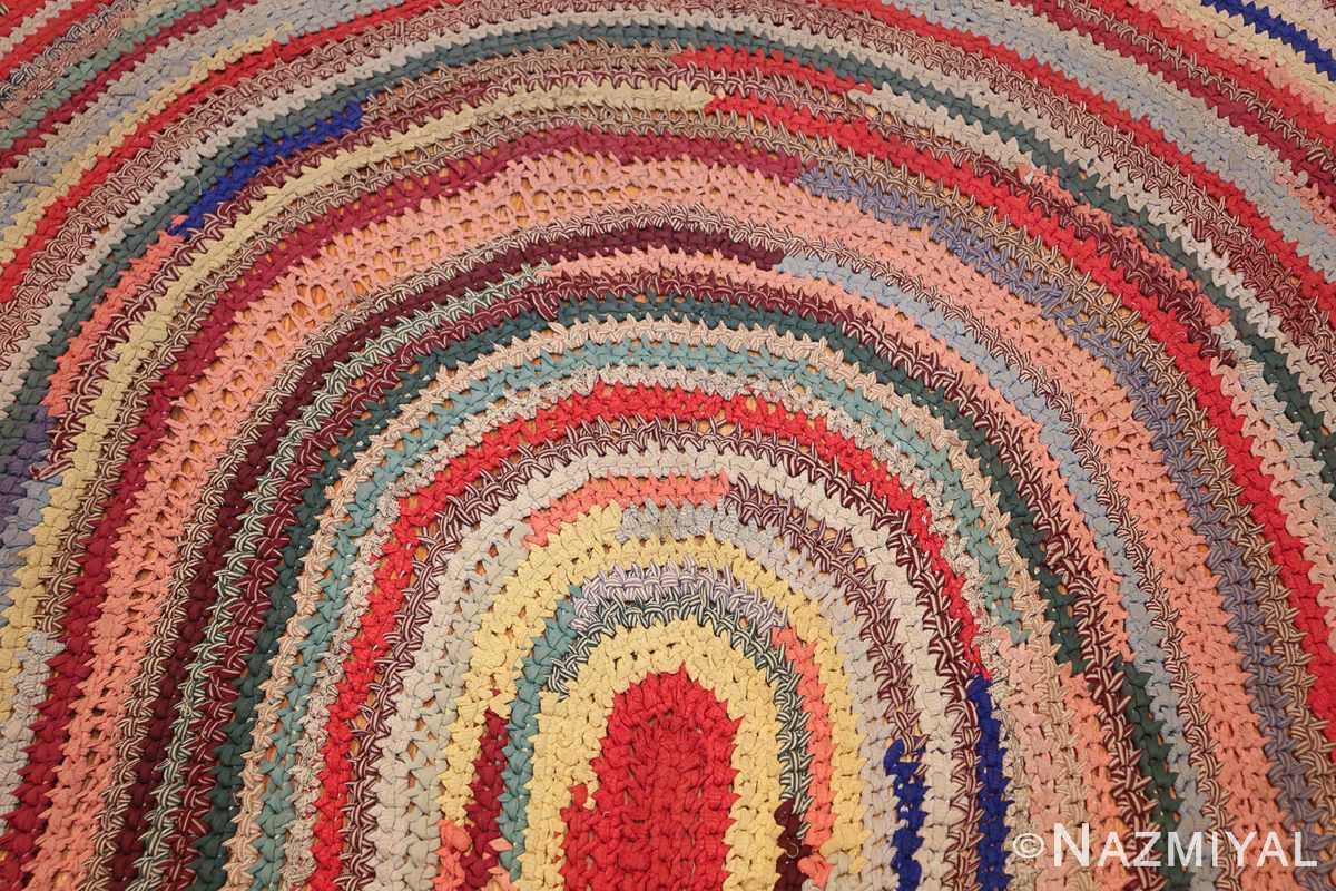 beautiful early american braided oval rug 1271 top Nazmiyal