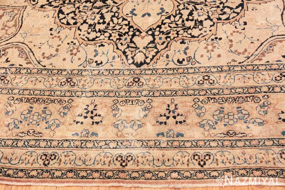 Border Antique Khorassan Persian rug 42030 by Nazmiyal