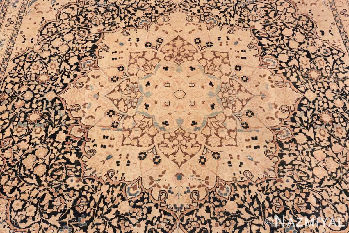 Close-up Antique Khorassan Persian rug 42030 by Nazmiyal
