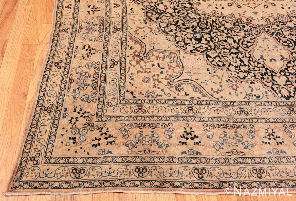 Corner Antique Khorassan Persian rug 42030 by Nazmiyal
