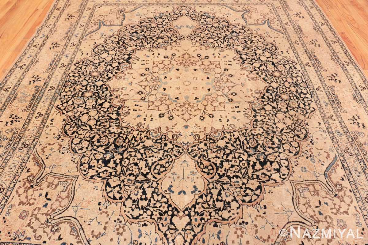 Field Antique Khorassan Persian rug 42030 by Nazmiyal
