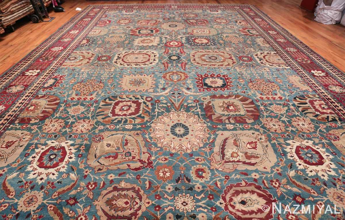 Large Antique Vase Design Indian Agra Rug 3342 Whole Design Nazmiyal