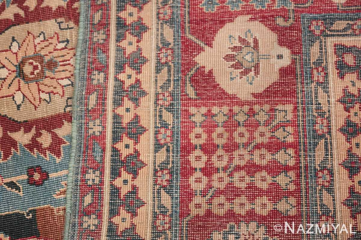 Large Antique Vase Design Indian Agra Rug 3342 Woven Knots Nazmiyal