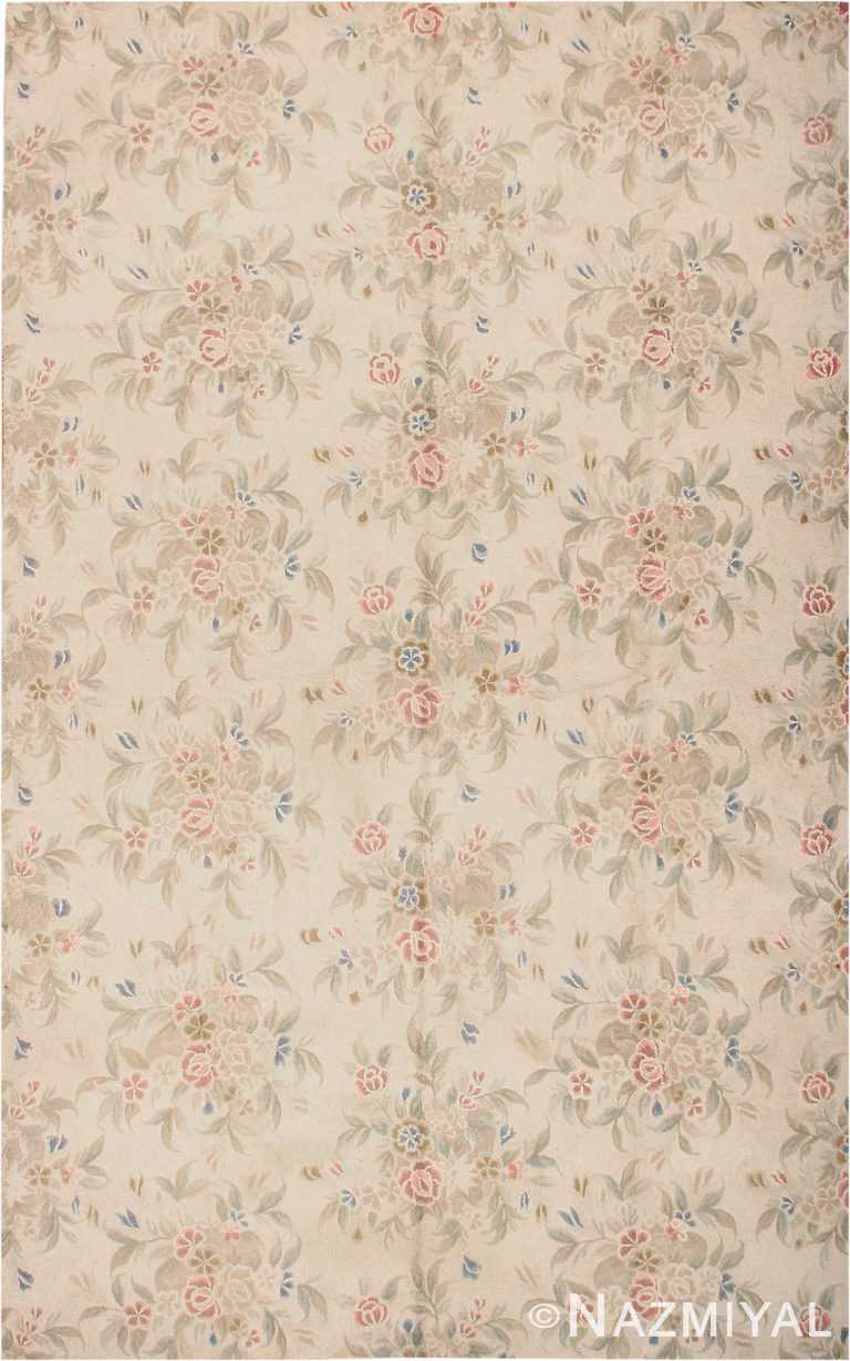 by Nazmiyal Antique RugsLarge Floral Antique Hooked American Rug #2275