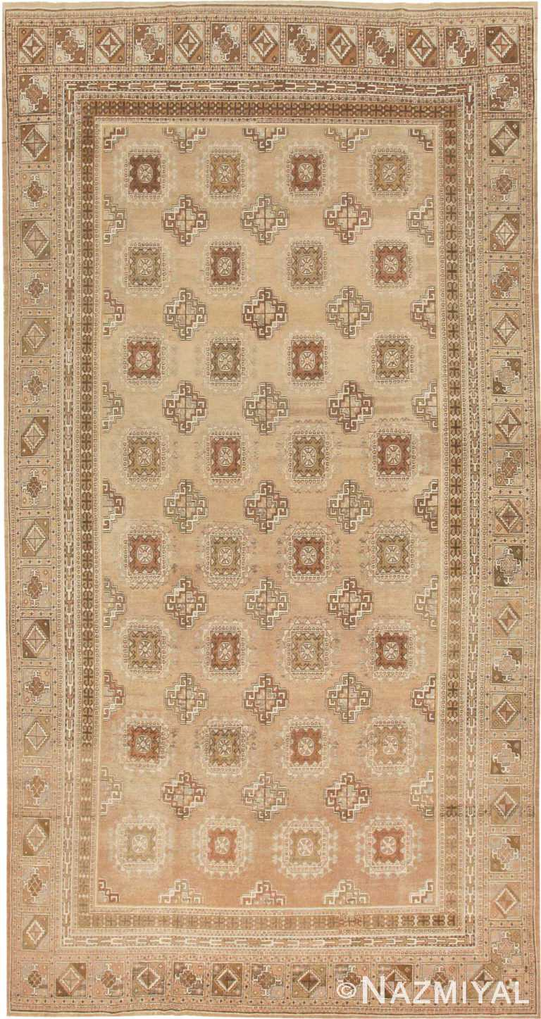 Large Gallery Size Antique Khotan Rug #41699 by Nazmiyal Antique Rugs