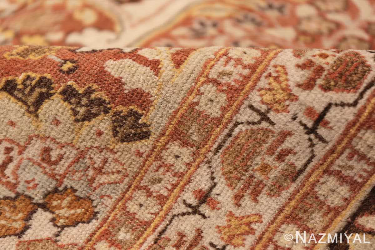Pile Antique Persian Tabriz rug 47144 by Nazmiyal