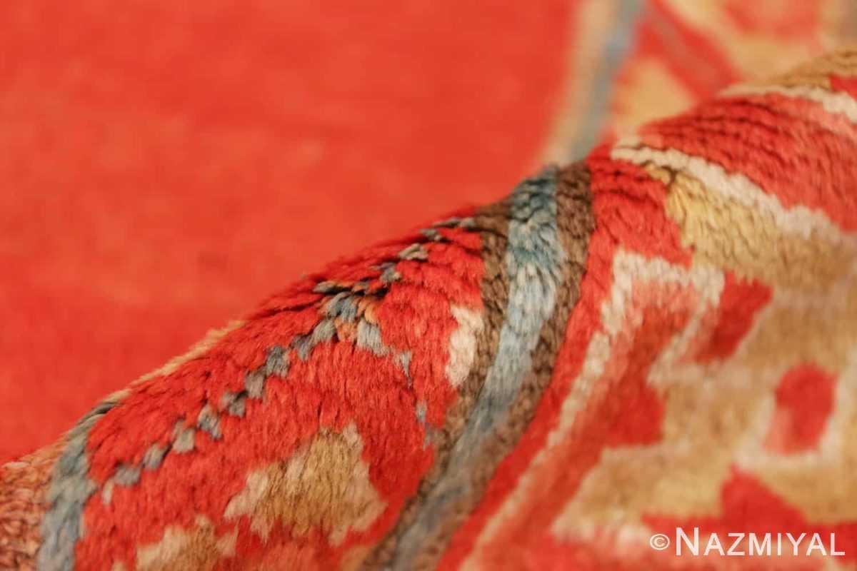 Pile Red Background Ningxhia Antique Chinese rug 43024 by Nazmiyal