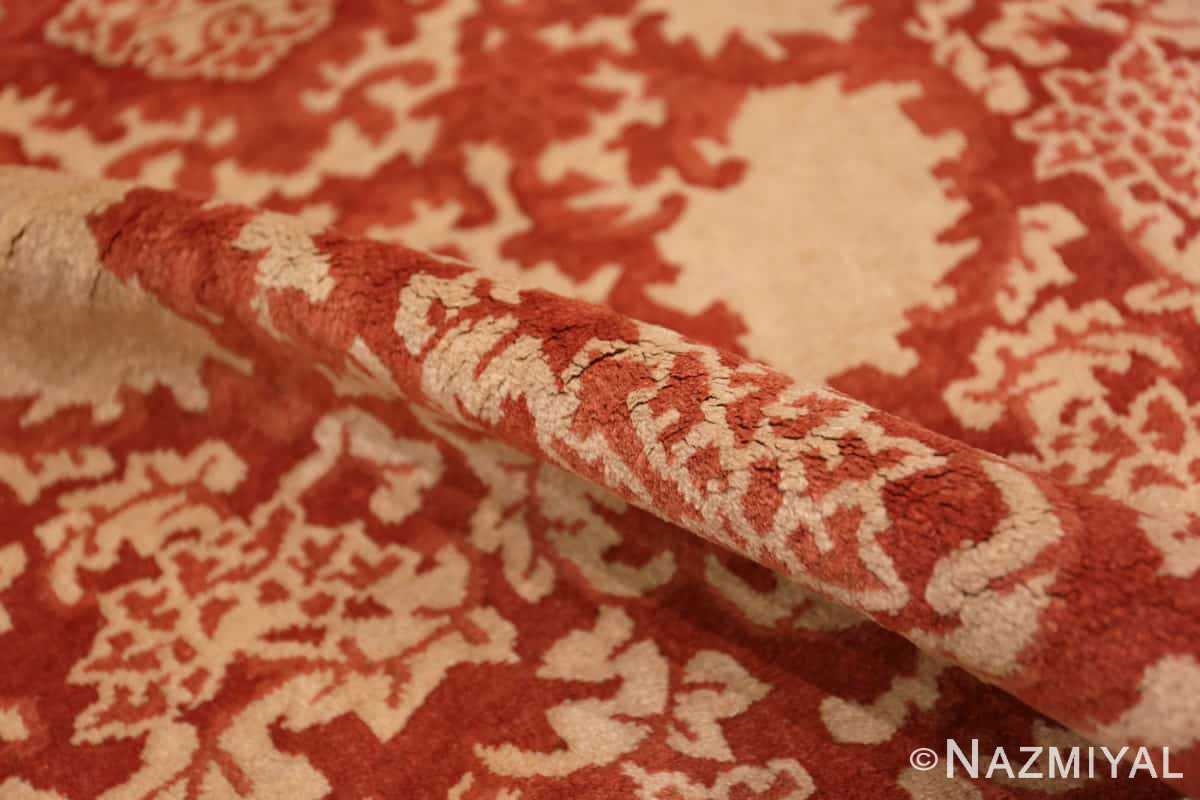 Pile small Scatter size Antique Oriental Chinese carpet 2608 by Nazmiyal