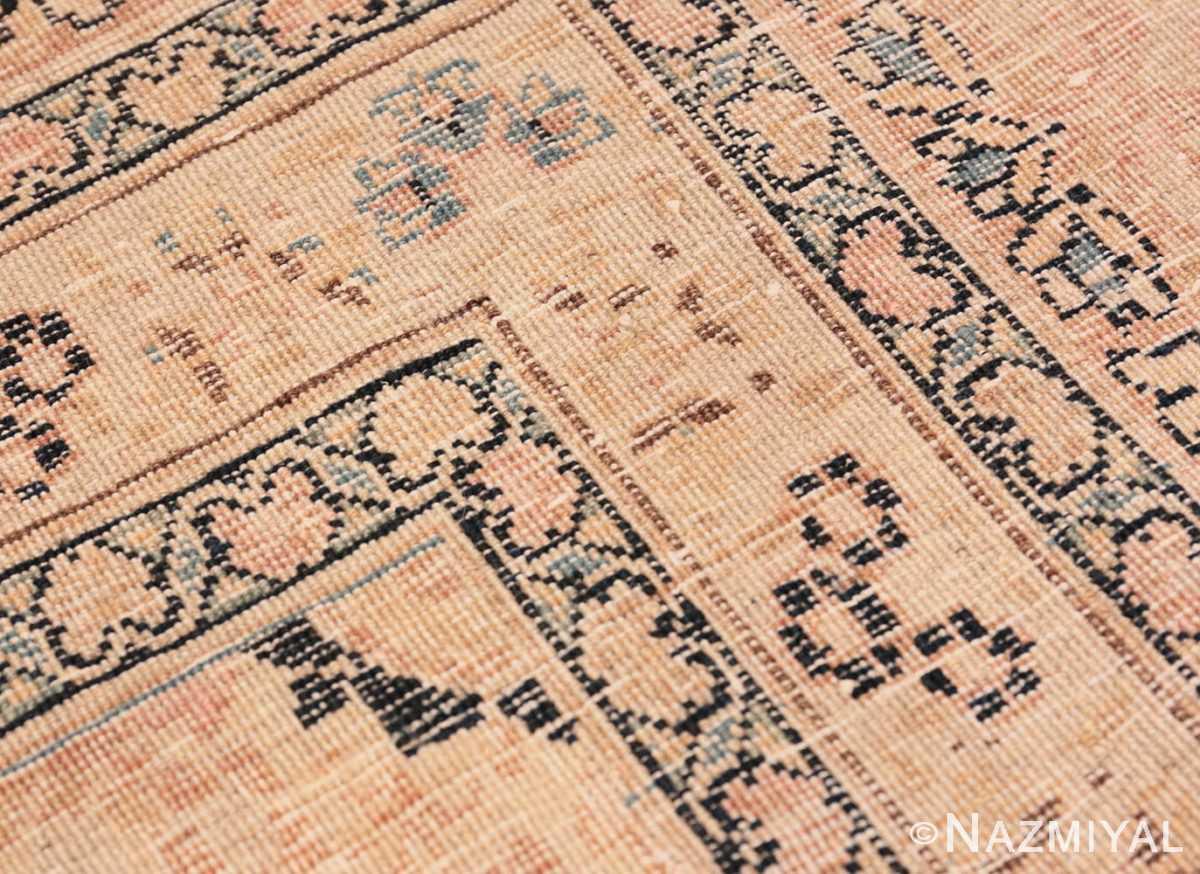 Weave detail Antique Khorassan Persian rug 42030 by Nazmiyal